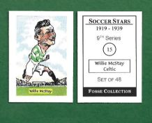 Glasgow Celtic Willie McStay Scotland 15 (FC)